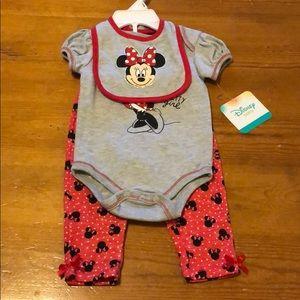 3-Piece Minnie Mouse Set